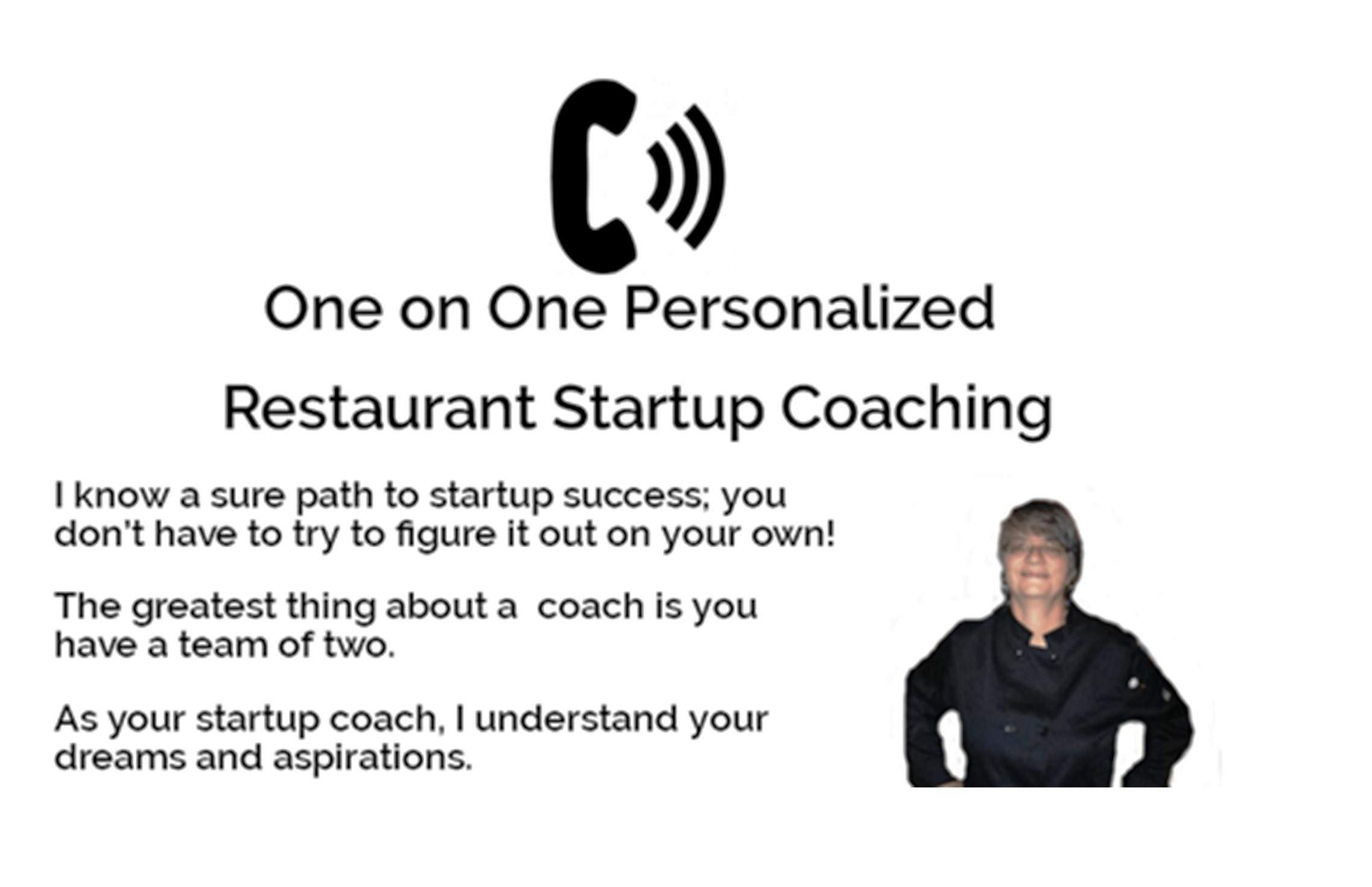one on one startup coach
